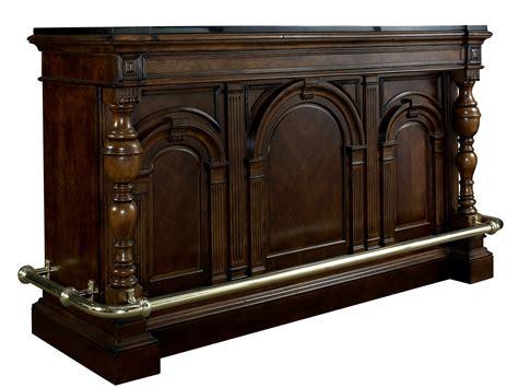 bar with granite top carlton manor bar with granite top pulaski furniture 565500