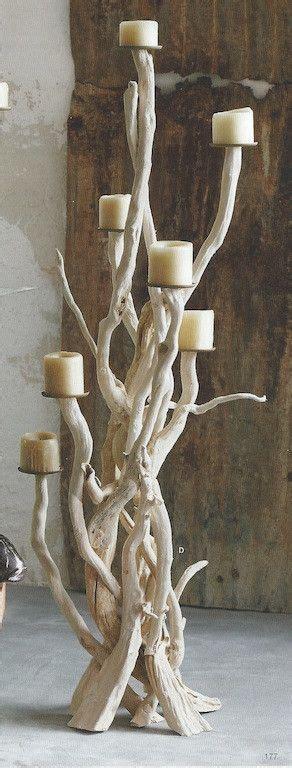 kerzenhalter treibholz die besten 17 bilder zu ideas con troncos palos madera