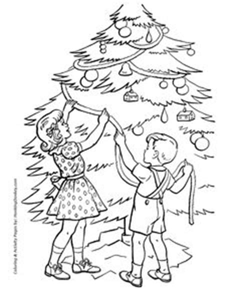 1000 Images About Coloring Christmas Pages On Pinterest Tree Countdown Coloring Page