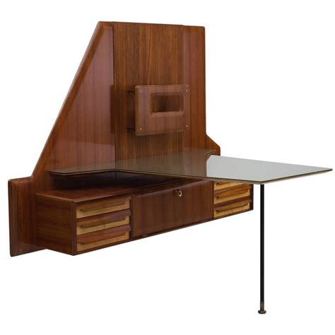 beautiful desk design gio ponti in 1950 at 1stdibs gio ponti rare wall mounted desk with glass top for sale
