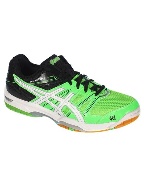 asics green sports shoes price in india buy asics
