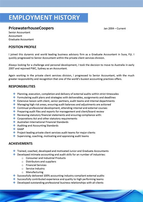 The Resume Template by We Can Help With Professional Resume Writing Resume