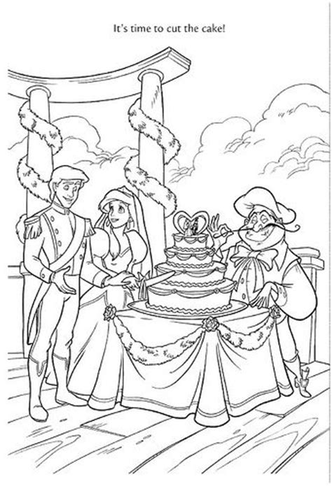 ariel wedding coloring pages wedding wishes 46 by disneysexual via flickr ariel prince