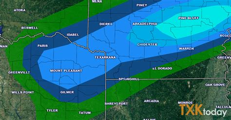 weather map texas today thunderstorms forecasted for sunday evening texarkana today