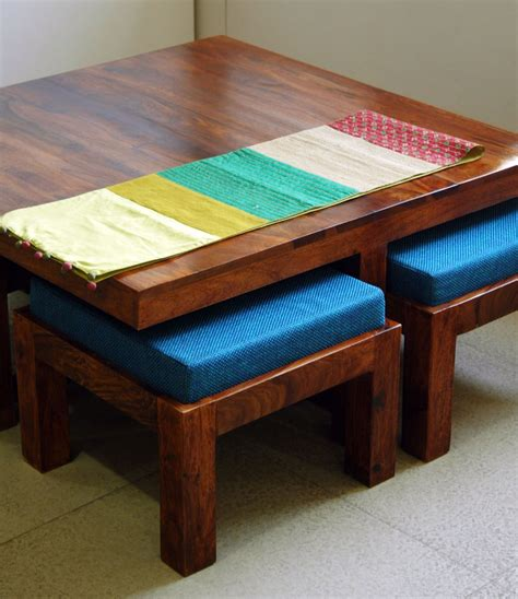 low dining table rosewood low rise dining table with chairs furniture
