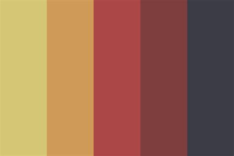 fall color pallette dark fall color palette