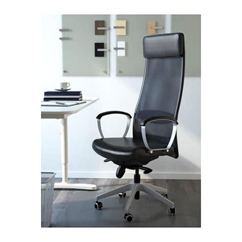 markus swivel chair glose black ikea markus swivel chair glose black ikea