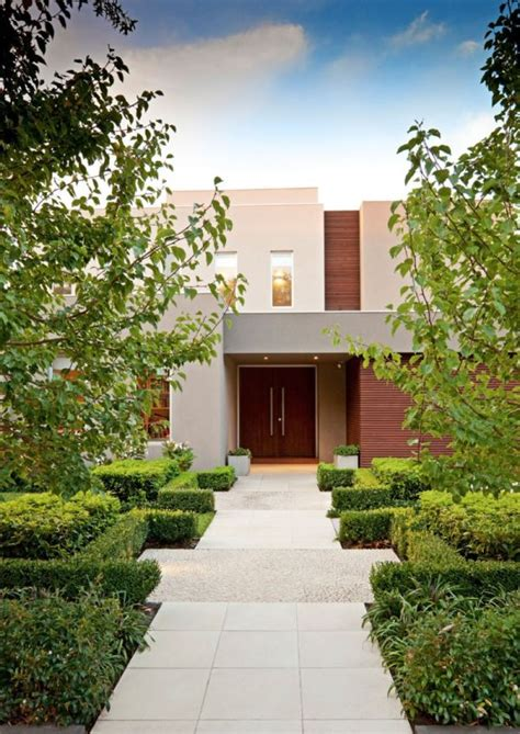House Exterior Design Surrey by Minimalist Exterior House With Beautiful Gardens In Surrey