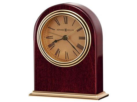 parnell personalized desk clock by howard miller clocks