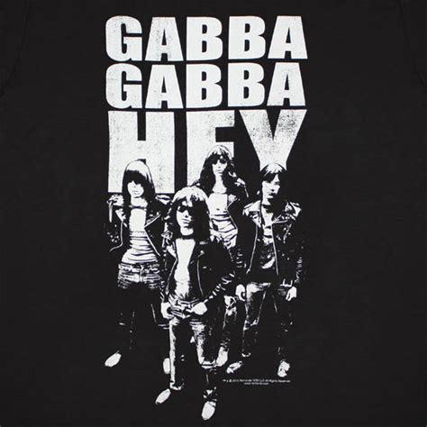 gabba gabba hey camiseta ramones gabba gabba hey por s 243 lo 21