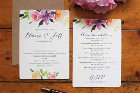 Top Wedding Stationery Trends for 2018   weddingsonline