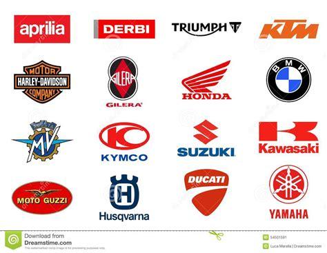 Motorrad Marken Logo by Motorcycles Producers Logos Editorial Photo Illustration