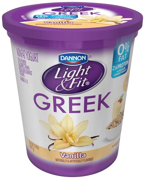 greek light and fit activia greek vanilla yogurt nutrition facts nutrition