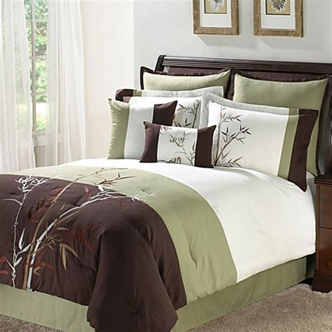 bed bath and beyond white comforter bird comforter white with green border home design and