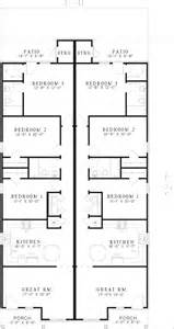 Narrow Lot Ranch House Plans Duplex Floor Plans Free Lcxzzcom Floor Plans For Duplex