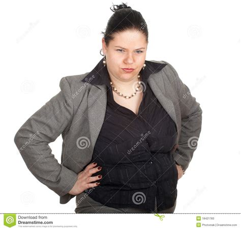 obese professional women irritated overweight fat businesswoman stock photos