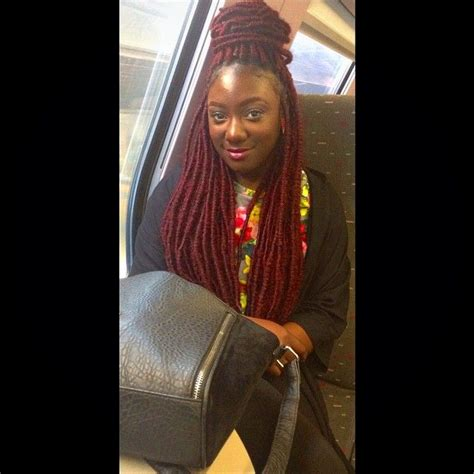 where to buy marley hair red faux locs braids with marley my instagram