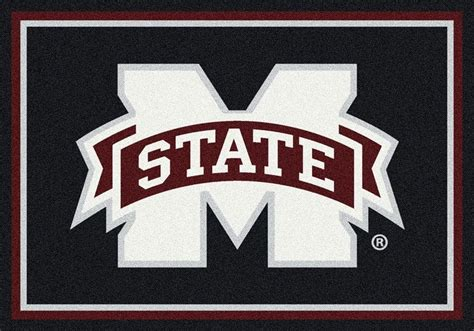 Braided Area Rugs Mississippi State Bulldogs Area Rug Ncaa Bulldogs Area Rugs