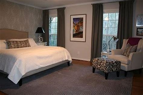balboa mist bedroom gray drapes transitional bedroom benjamin moore