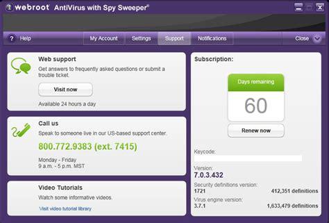 Amazon.com: Webroot AntiVirus with Spy Sweeper 1 User