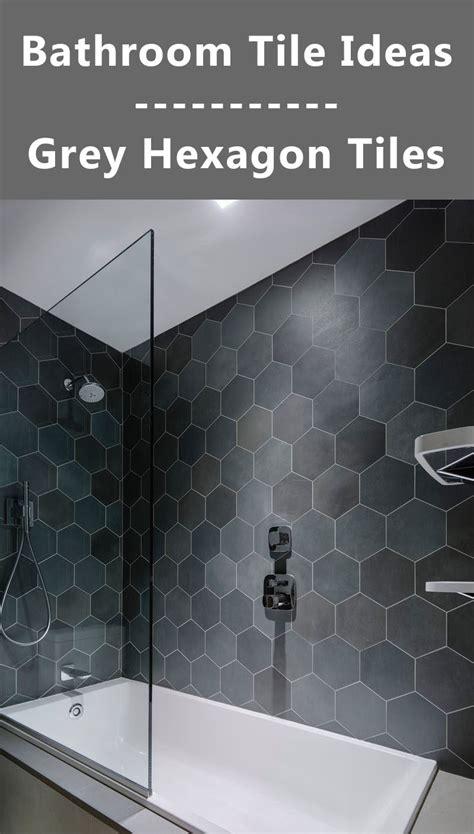 Spa Light Fixture Bathroom Tile Ideas Grey Hexagon Tiles Contemporist