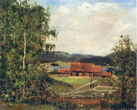 Landscape Oslo Landscape Maridalen By Oslo 1881 Edvard Munch