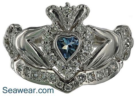 claddagh ring set claddagh wedding rings