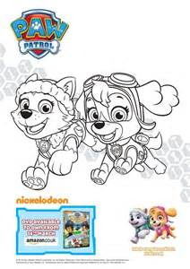 paw patrol pups coloring pages free coloring pages of kaie paw patrol