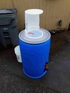 build  portable hand washing station  steps