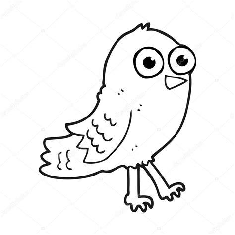 imagenes blanco y negro para estar p 225 jaro blanco y negro de dibujos animados vector de