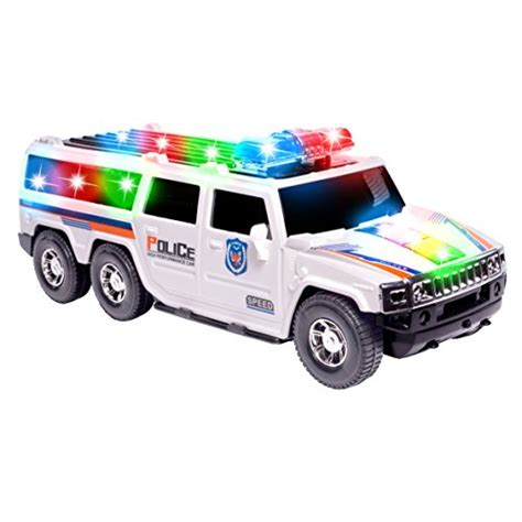 police car toy with flashing lights compare price to dodge ram power wheels truck tragerlaw biz