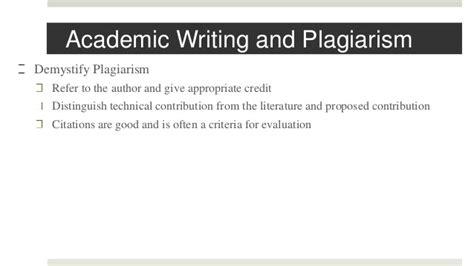 writing technical papers writing technical paper
