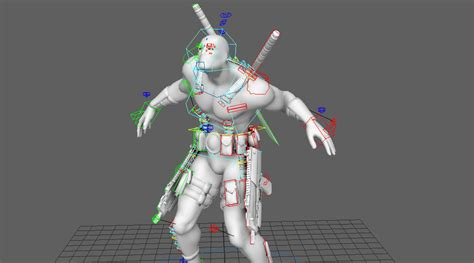 Rigged 3d Model free rigged 3d model 3dart