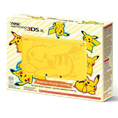 New 3ds Xl Pikachu Yellow Edition New new nintendo 174 3ds xl pikachu yellow edition target