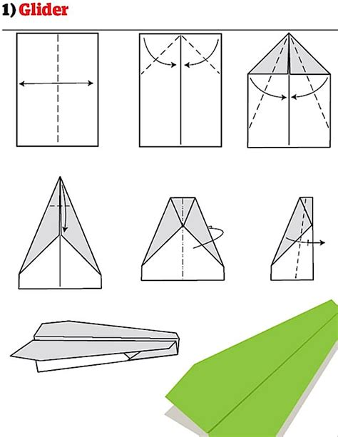 How To Make A Paper Airplane Glider Step By Step - how to make paper airplane glider driverlayer search engine