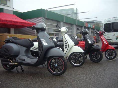 Motorradvermietung Stuttgart by Umgebautes Motorrad Vespa Gts 300 I E Von Cityroller Gmbh