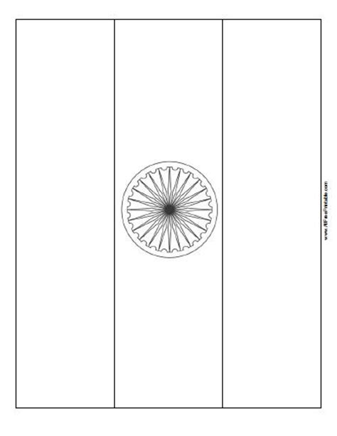 india flag coloring page gallery