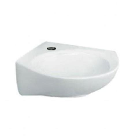 corner bathroom sink home depot american standard cornice corner wall mount bathroom sink