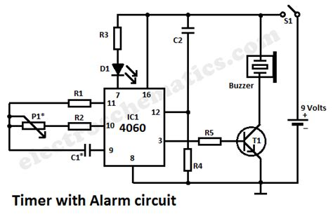 timer with alarm circuit