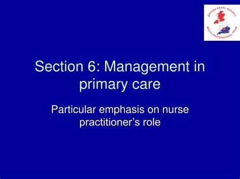 section management ppt section 6 management in primary care powerpoint