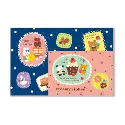 Bantal Mobil Set 3 Bordir Tsum Tsum Mm Orange Boneka Tsum Mini mamegoma yurumame letter set kawaii panda cuter