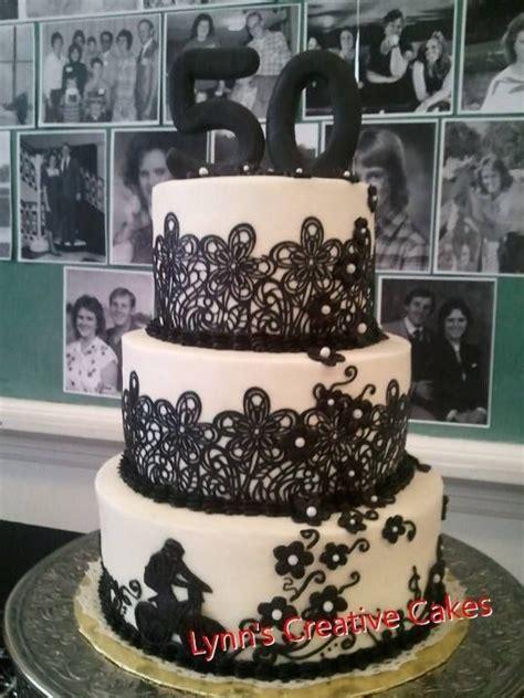 50th Birthday cake   Lynn's Creative Cakes LLC   Pinterest
