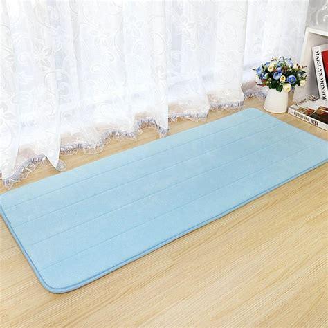 memory foam area rugs 3 size coral fleece memory foam carpet non slip water absorption area rug doormat floor mat for