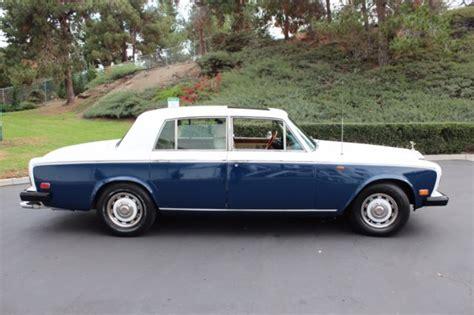 Rolls Royce Mission 1976 Rolls Royce Silver Shadow Tow Tone 29 000 Mil