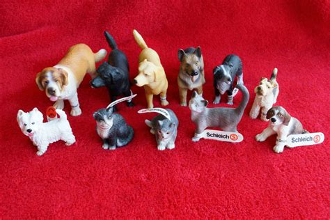 Cat Vintage Set 3in1 schleich dogs cats models retired new ebay