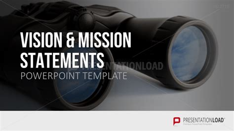 templates for vision and mission statements vision mission statements powerpoint template