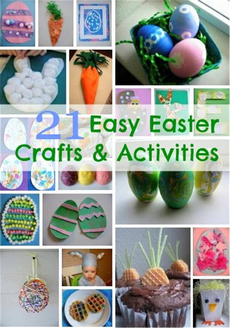 easter craft projects for 21 easy easter crafts for