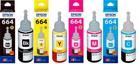 Tinta Epson Original 664 Cmyk Kit 4 Tintas Epson L365 L220 T664 Original Cmyk 70ml R