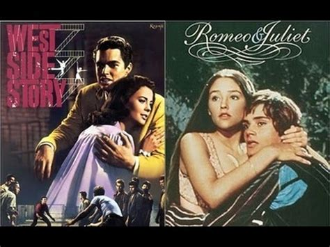 west side story themes romeo and juliet romeo and juliet vs west side story youtube