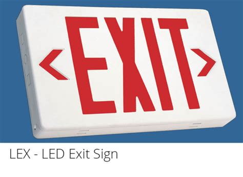 wet location emergency exit light wle led wet location exit sign from lumenfocus
